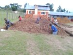 Digging out for the James Murray Children's Home in Kenya